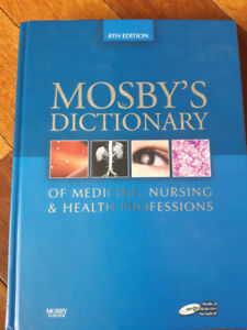 RN/RPN Text Books: Mosbys Dictionary for Nursing/Healthcare