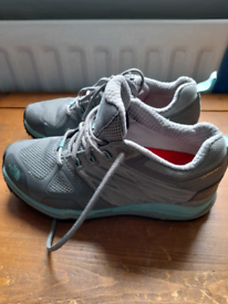 North face walking/hiking trainers size 4