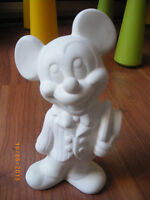 Mickey Mouse sculpture from Walt Disney - to paint