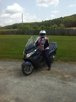 SELLING MY BURGMAN,,NO TIME TO RIDE,,OR TRADE FOR SLED