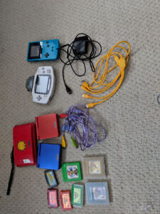 Gameboys and accessories
