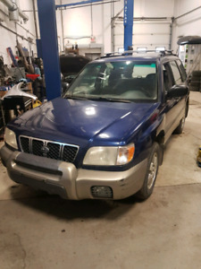 2001 Subaru Forester Blue Ridge Edition
