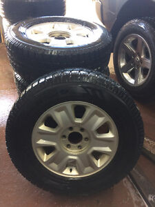 4 MAGS AND TIRES FITS FORD PICK UP 275/65R18