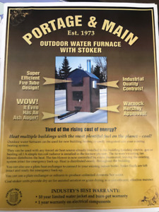 Outdoor Water Furnace - Portage and Main Coal Burning