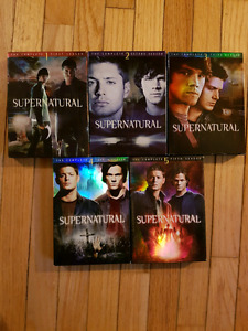 Supernatural seasons 1 to 5