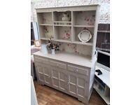 *** stunning shabby chic dresser / display cabinet ****