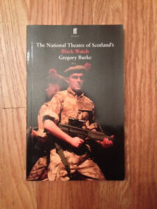 English - Black Watch (the play) by Gregory Burke