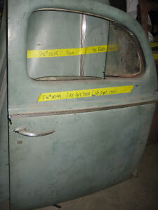 Pair of 1940 Ford Coupe doors, mint, sell or trade London Ontario image 3