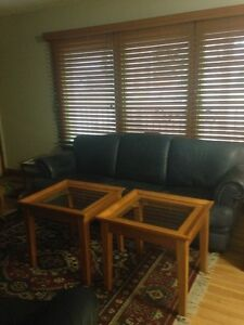 Solid Coffee Table Set with Two Matching End Tables Regina Regina Area image 3