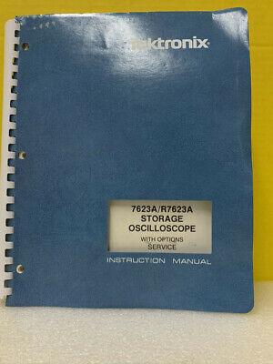 Tektronix 070-1685-00 7623ar7632a Storage Oscilloscope Options Service Manual