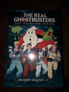 NEW Ghostbusters Animated DVD