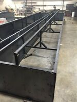 Custom welded cattle supplies