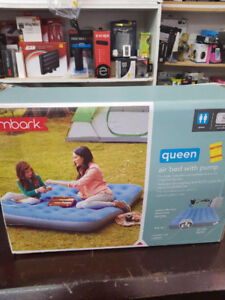 Embark Queen Airbed w/ Pump Review