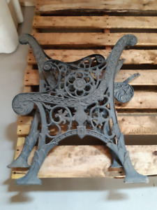 Wrought Iron Bench/Chair Ends