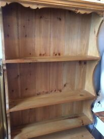 Pine Kitchen Shelving Unit
