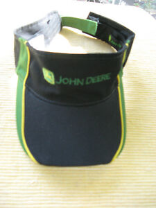 JOHN DEERE SUN VISOR, ONE SIZE FITS ALL