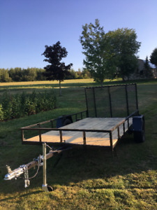 New 6'x12' Utility Traier For Sale