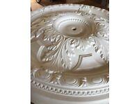 70 cm ornate ceiling plaster rose