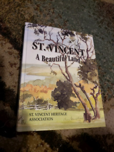 ST VINCENT A BEAUTIFUL LAND HARDCOVER BOOK