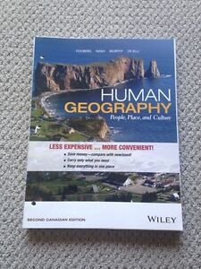 Human Geography: People, Place, and Culture, 2nd Ed. by Fouberg