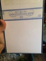 Kits to make your own invitations and thank you cards