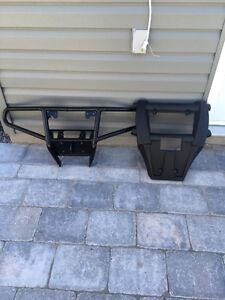 Front Bumper and guard for 2014 Arctic Cat 700 TRV