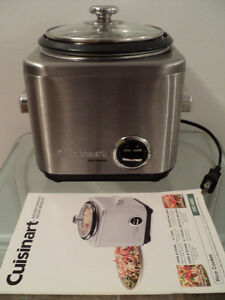 CUISINART RICE COOKER WITH INSTRUCTION & RECIPE BOOKLET-LIKE NEW Cornwall Ontario image 5