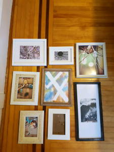 8 unique frames for gallery wall