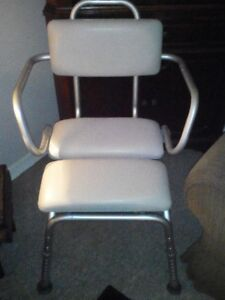 Deluxe Padded Shower Chair