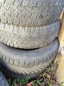 4 sets of winter tires