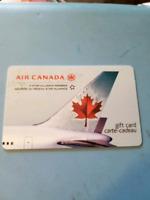 1500$ Air Canada card
