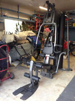 LIFE FITNESS PARABODY GS4 COMPLETE HOME GYM!