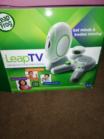 LeapTV games console