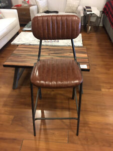 Clearance kitchen counter height barstools industrial