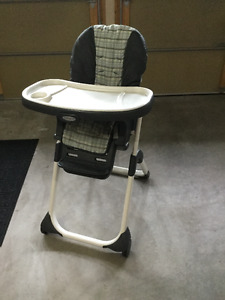 Convertible Graco Highchair