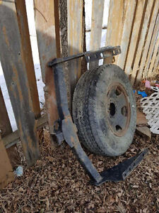 2007 F350 Hitch and spare tire