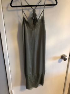 GUESS, Olive green dress- NEW with tags