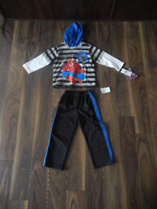 Size 2T Spiderman Outfit