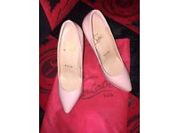 Louboutin shoes. New! Size 39