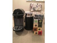 Magimix Nespresso Coffee Machine with Aeroccino and over 100 Coffee Pods