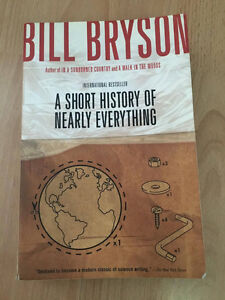 A short story of nearly everything - Bill Bryson