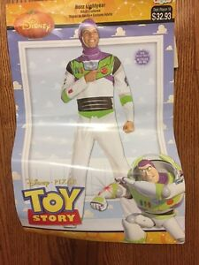 """Halloween costume Buzz Lightyear from """"Toy Story"""", mens XL"""