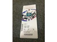 Twickenham England V Argentina three tickets together