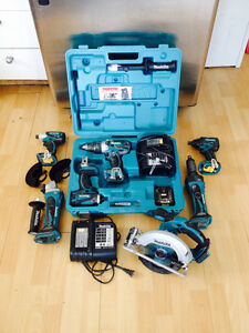 Outils Makita a batterie 18V