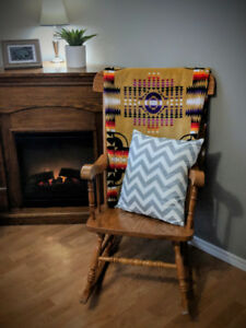Classic Solid Wood Rocking Chair