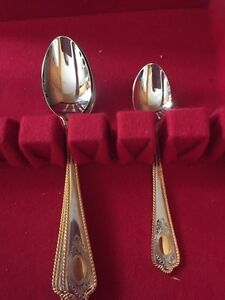 Looking for this two toned gold and silver silverware  Sarnia Sarnia Area image 1