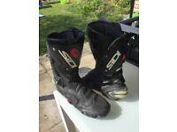 Sidi motor cycle boots