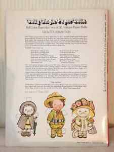 Dolly Dingle Paper Dolly circa 1978 (Lot of 2) London Ontario image 2