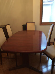 Rosewood Dining Room Table & Buffet