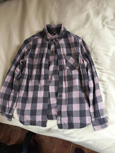 Plaid shirt from Roots